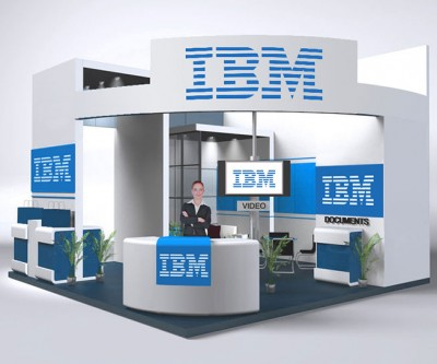 IoT Slam Internet of Things Conference IBM Stand