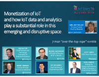 CLOSING PANEL – MONETIZATION OF IOT AND HOW IOT DATA AND ANALYTICS PLAY SUBSTANTIAL ROLES IN THIS EMERGING AND DISRUPTIVE SPACE