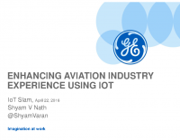 Enhancing Aviation Industry Experience using IoT