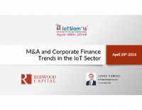 M&A AND CORPORATE FINANCE TRENDS IN THE IOT SECTOR